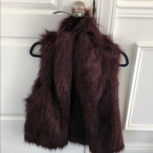 Faux fur vest from Sam Edelman size M!